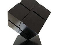 Tony Rosenthal Cube Sculpture