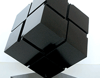 Tony Rosenthal Untitled Cube