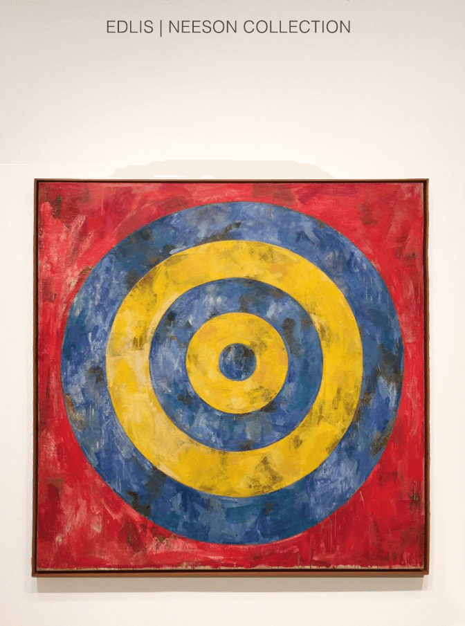 Jasper Johns Target Art Institute of Chicago