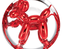 Jeff Koons Red Balloon Dog