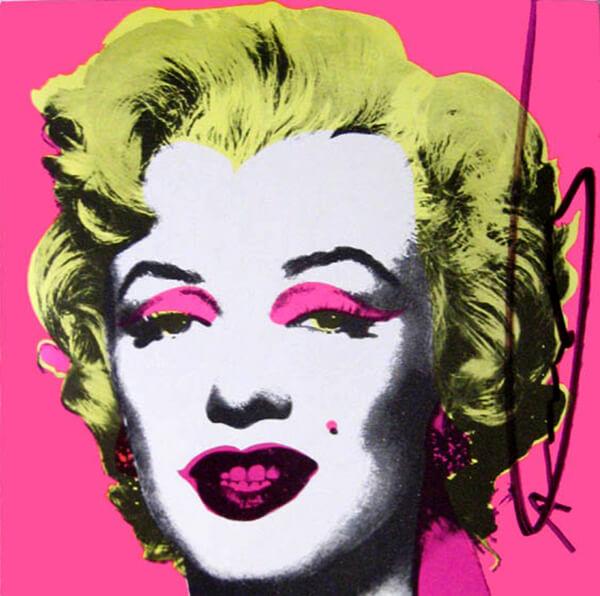 Andy Warhol Marilyn Monroe