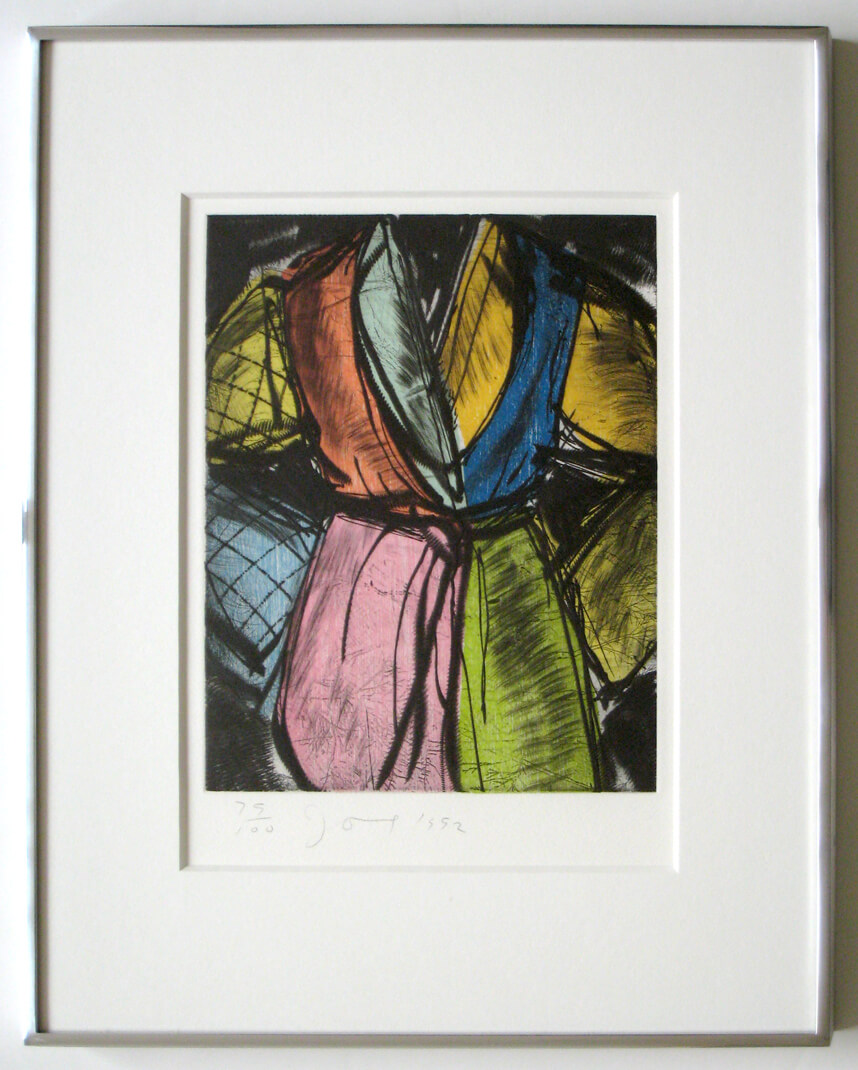 Jim Dine Bill Clinton Robe