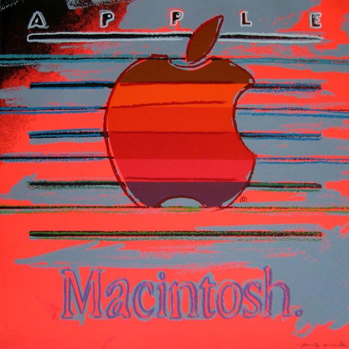 andy warhol apple joseph k levene fine art ltd