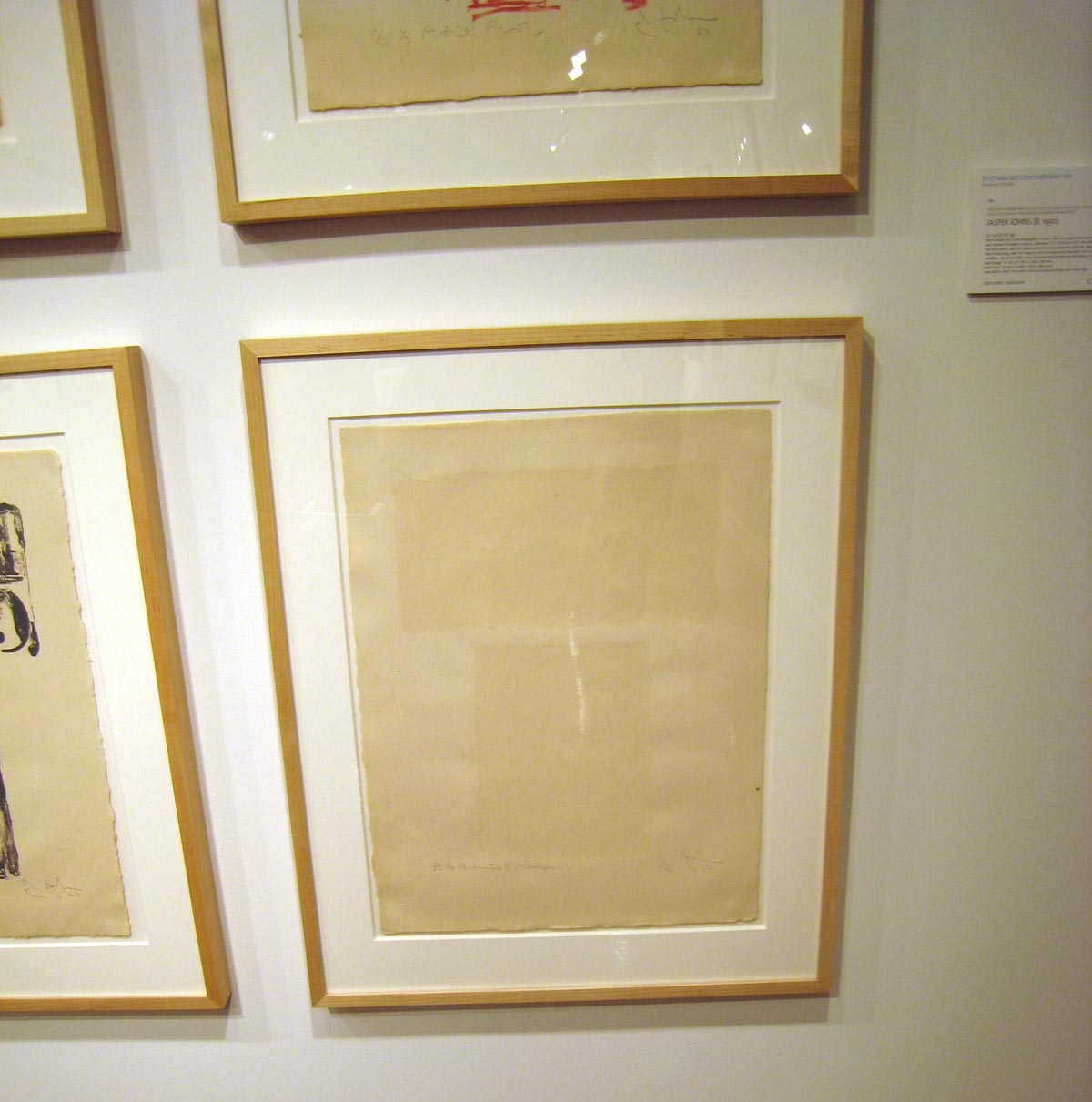 Do You See the Jasper Johns Numeral 9 in this Photo?