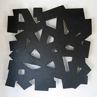 Tony Rosenthal Wall Sculpture © Estate of Tony Rosenthal / Licensed by VAGA at Artists Rights Society (ARS), NY